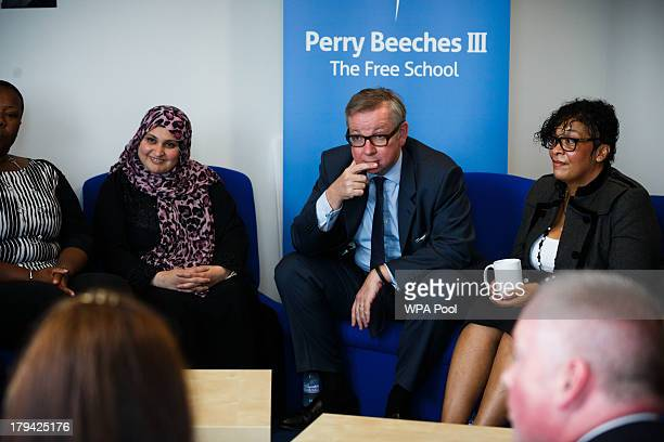 Education Secretary Michael Gove visits Perry Beeches III Free School on September 3 2013 in Birmingham England It is predicted that by 2016 two...