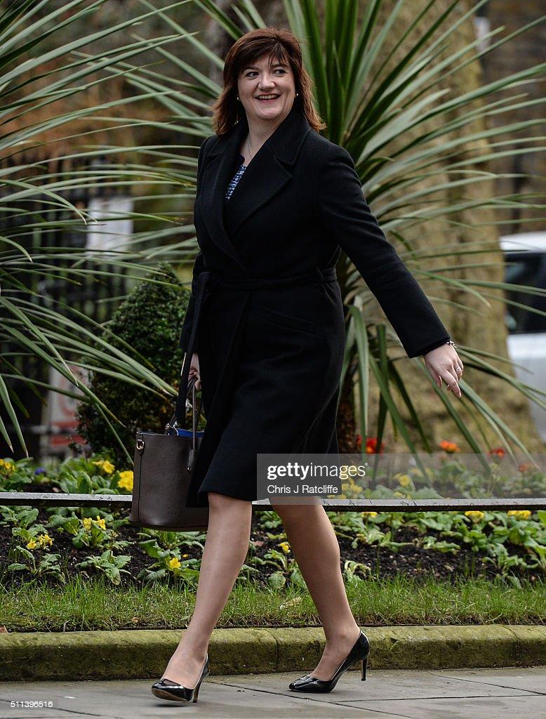Prime Minster David Cameron Returns To Downing Street After EU Summit