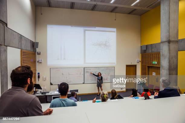 Educational Presentation Taking Place