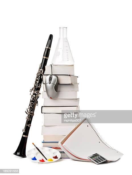 formazione i soggetti - clarinetto foto e immagini stock
