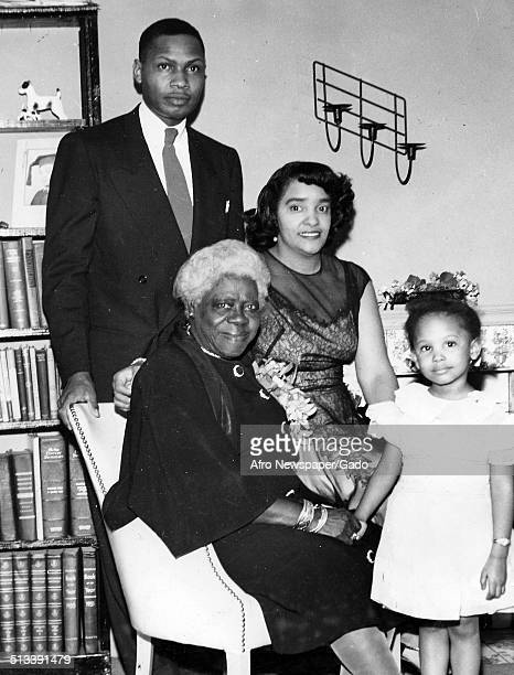 Educator and Civil Rights activist Mary McLeod Bethune and family 1940