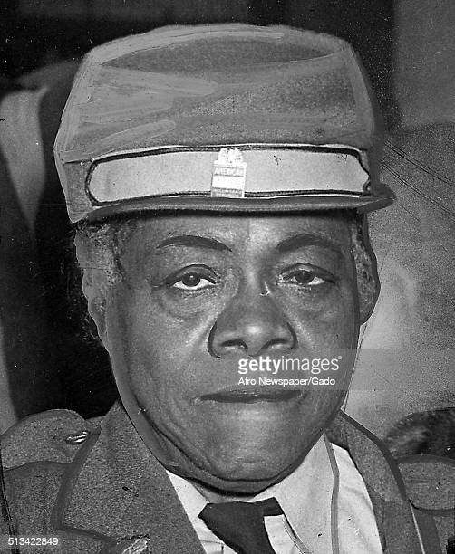 Educator and Civil Rights activist Mary McLeod Bethune posing Philadelphia Pennsylvania November 27 1943
