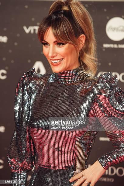 Edurne Garcia aka Edurne attends 'Los40 music awards 2019' photocall at Wizink Center on November 08 2019 in Madrid Spain