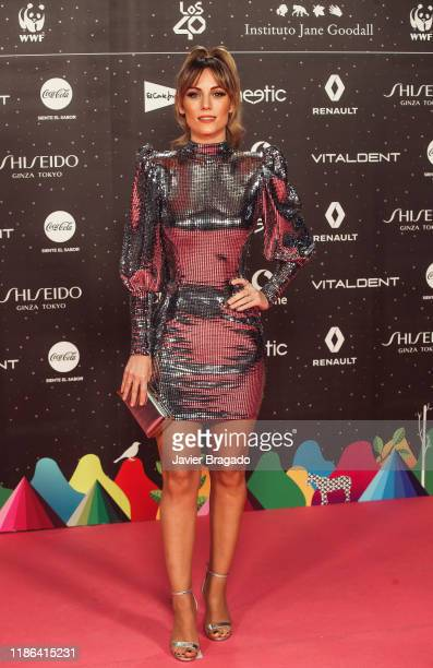 Edurne Garcia aka Edurne attends 'Los40 music awards 2019' photocall at Wizink Center on November 08 2019 in Madrid Spain