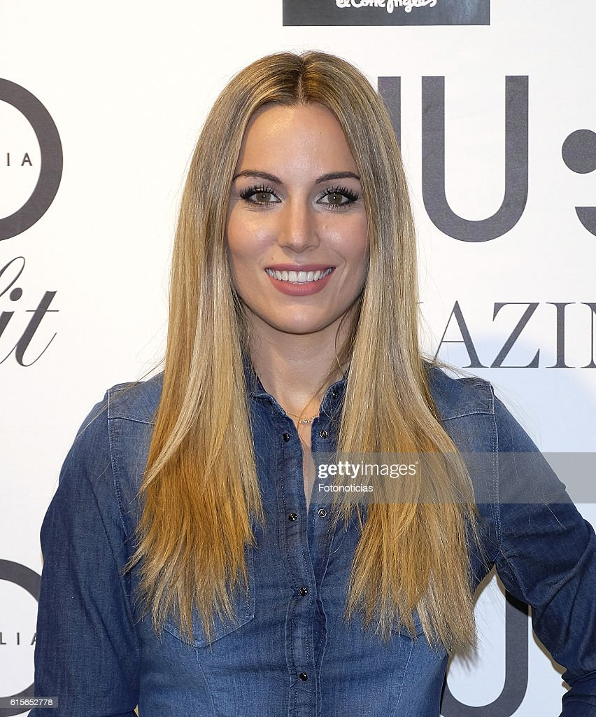 filete embrague frontera  Edurne presents Bottom Up Amaizing Fit By Liu Jo at El Corte Ingles... News  Photo - Getty Images