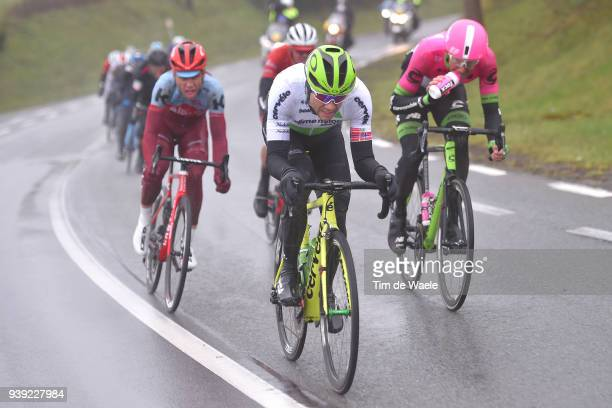 Edvald Boasson Hagen of Norway and Team Dimension Data / during the 73rd Dwars door Vlaanderen 2018 a 180,1km race from Roeselare to Waregem on March...