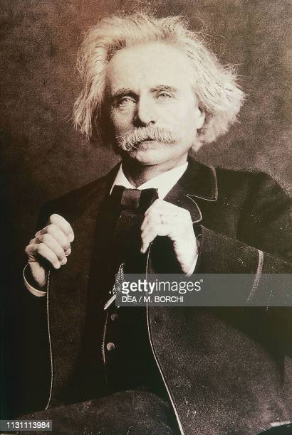 Edvard Hagerup Grieg Norwegian composer and pianist