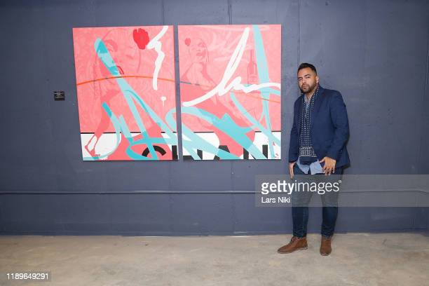 Edward Acosta attends the private opening of the Good Luck Dry Cleaners Bowery location at 3 East 3rd on December 19 2019 in New York City