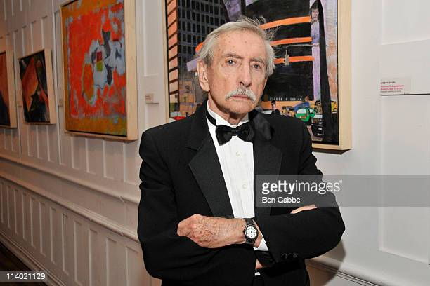 Edward Albee receives the Medal of Honor for lifetime achievement at The National Arts Club on May 10, 2011 in New York City.