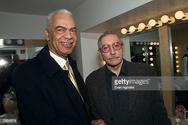 Edward Albee's new play 'The Play About The Baby' opens at the Century Center for the Performing Arts in New York City 02/1/2001 Pictured Earl Hymen...