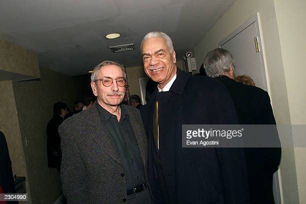 Edward Albee's new play 'The Play About The Baby' opens at the Century Center for the Performing Arts in New York City 02/1/2001 Pictured Edward...