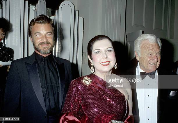 Edward Albert Ann Miller and Eddie Albert during 19th Annual Nosotros Awards at Beverly Hilton Hotel in Beverly Hills California United States