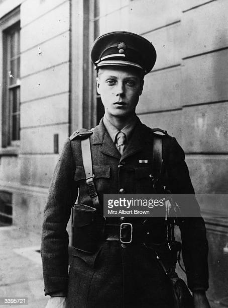 Edward Albert Windsor , the Prince of Wales as Second Lieutenant in the Grenadier Guards. Edward became King Edward VIII, only to abdicate the throne...
