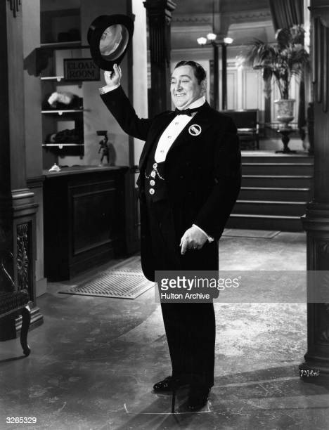 Edward Arnold plays Diamond Jim Brady in 'Diamond Jim' a film about the life of a millionaire playboy directed by A Edward Sutherland for Universal