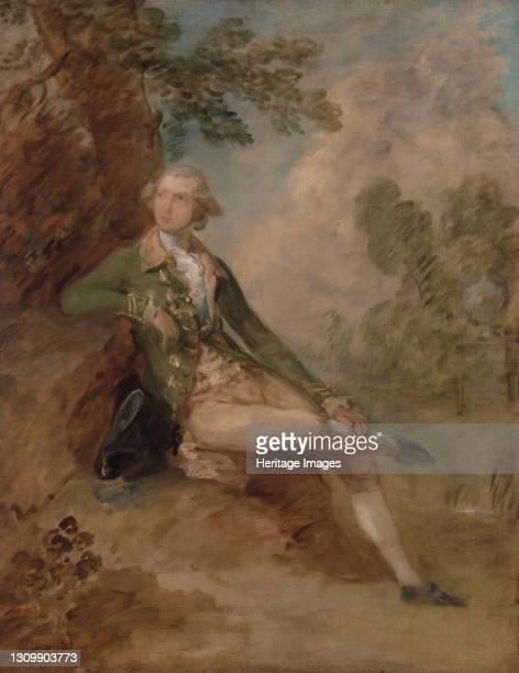 Edward Augustus, Duke of Kent;Edward, Duke of Kent;Ritratto di Edward, duca di Kent, ca. 1787. Artist Thomas Gainsborough. .
