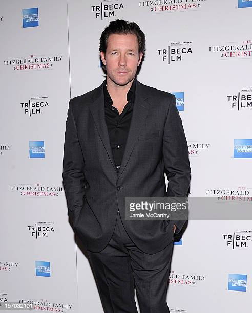 edward burns attends the tribeca films special new york screening of the fitzgerald family christmas - Fitzgerald Christmas