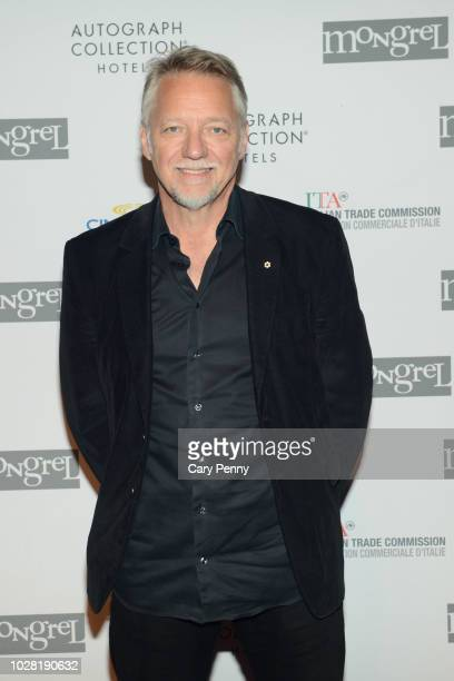 Edward Burtynsky attends 'The Anthropocene Project' at Mongrel House during the 2018 Toronto International Film Festival at Roy Thompson Hall on...