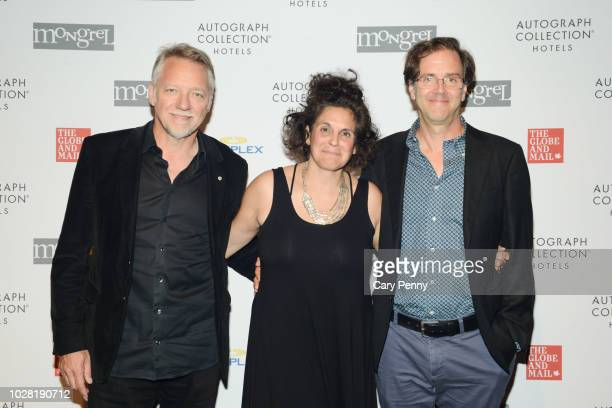 Edward Burtynsky Jennifer Baichwal and Nicholas dePencier attend 'The Anthropocene Project' at Mongrel House during the 2018 Toronto International...