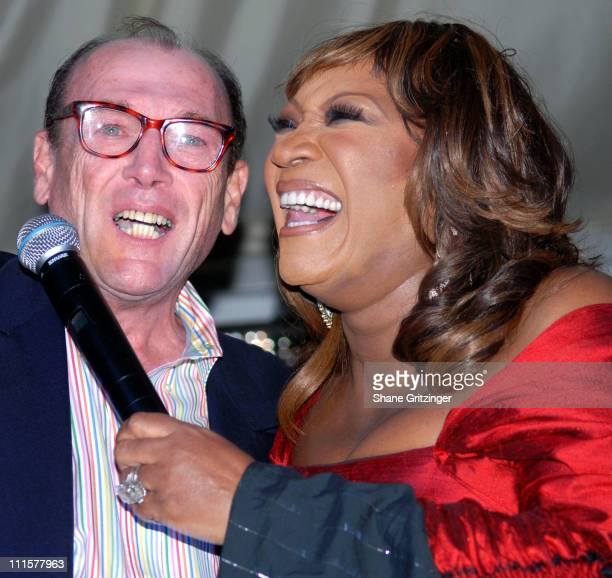 Edward Callaghan and Patti LeBelle during An Evening Under the Stars with Patti LaBelle to Benefit the Diabetes Research Institute Foundation at...