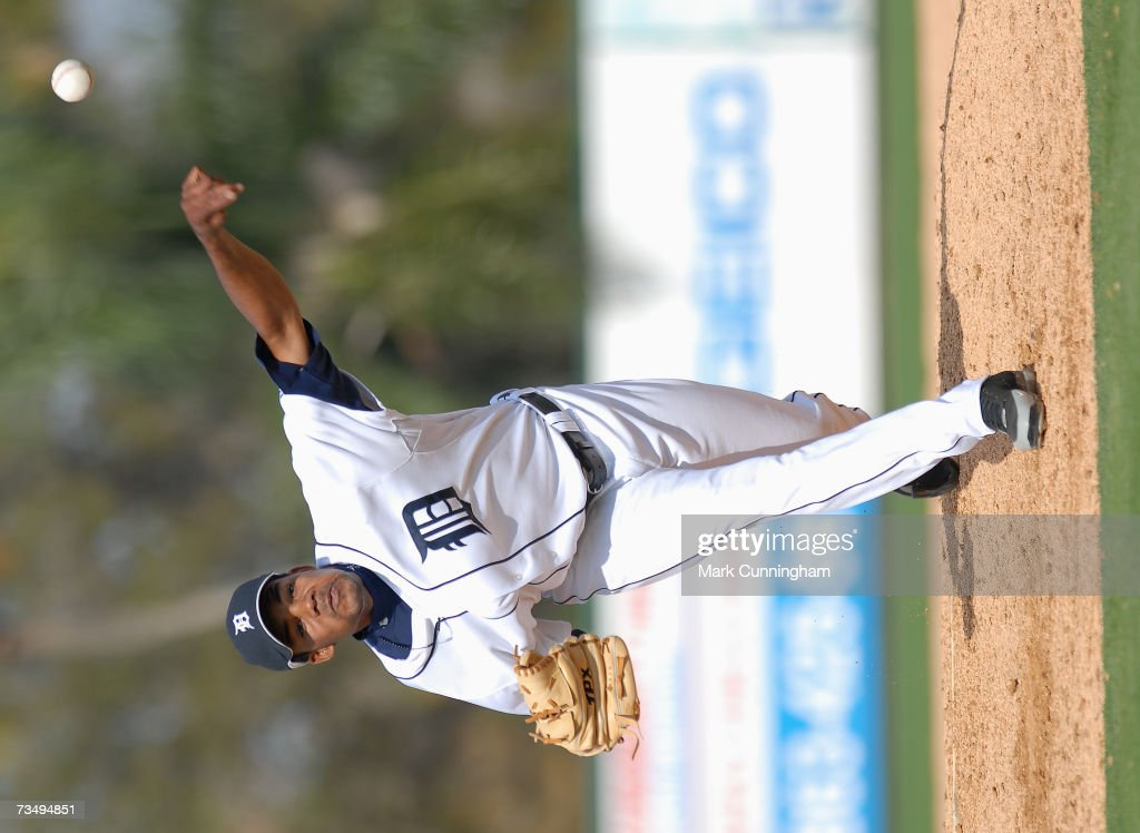 Florida Southern College v Detroit Tigers : News Photo