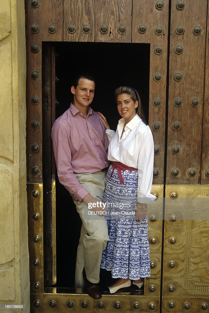 Edward Crepy And Princess And Clotilde DOrleans In Seville Pictures