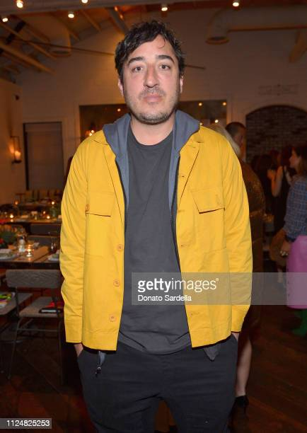 Edward Droste attends Liz Goldwyn and MATCHESFASHIONCOM celebrate the launch of Frieze LA at Gracias Madre on February 13 2019 in West Hollywood...