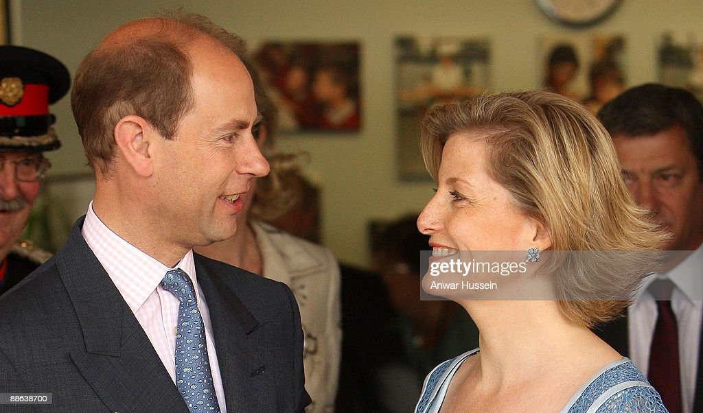 Earl Of Wessex And Countess Of Wessex Celebrate 10th Wedding Anniversary : News Photo