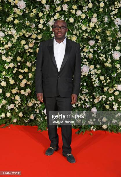 Edward Enninful attends the 10th Annual Filmmakers Dinner hosted by Charles Finch Edward Enninful and Michael Kors at the Hotel du CapEdenRoc on May...