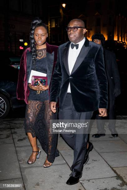 Edward Enninful attends the Portrait Gala at National Portrait Gallery on March 12, 2019 in London, England.