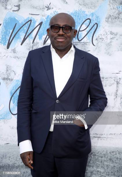Edward Enninful attends The Summer Party 2019 Presented By Serpentine Galleries And Chanel at The Serpentine Gallery on June 25 2019 in London England
