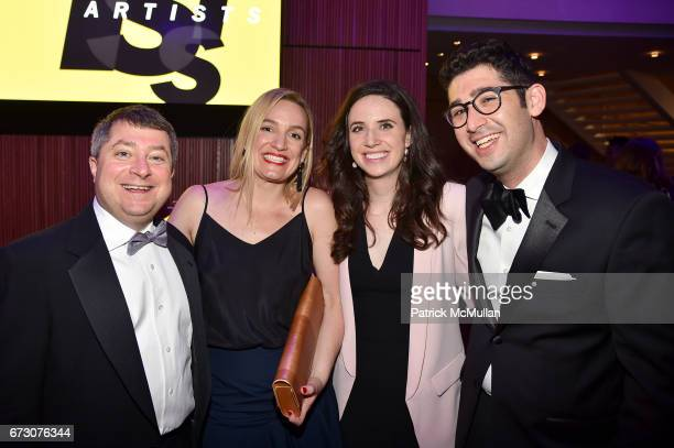 Edward Felsenthal Claire Howorth Lauren Schuker Blum and Sam Jacobs attend the 2017 TIME 100 Gala at Jazz at Lincoln Center on April 25 2017 in New...