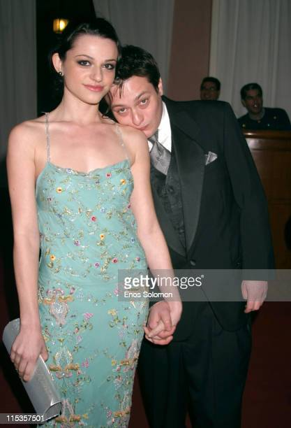 Edward Furlong and Rachel Bella during 15th Annual Night of 100 Stars Black Tie Oscar Gala at Beverly Hills Hotel in Beverly Hills California United...