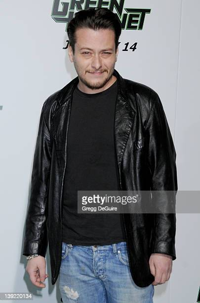 Edward Furlong arrives at the Los Angeles Premiere of The Green Hornet at the Grauman's Chinese Theatre on January 10 2011 in Hollywood California