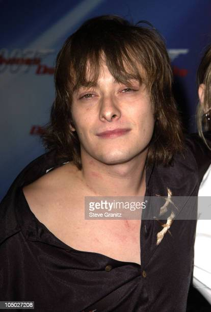 Edward Furlong during Die Another Day Los Angeles Premiere at Shrine Auditorium in Los Angeles California United States