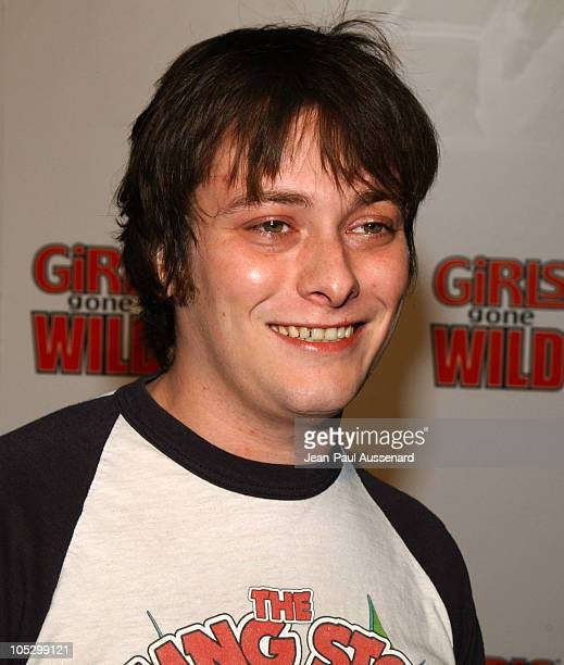 Edward Furlong during Girls Gone Wild' Elegant Sin Halloween Party Arrivals at Private Residence in Los Angeles California United States