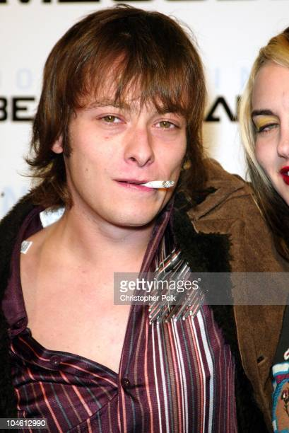 Edward Furlong during Nintendo's Gone Platinum at 6777 Hollywood Blvd in Hollywood CA United States