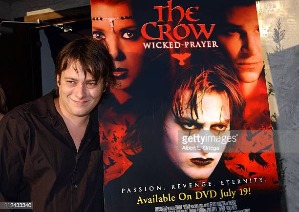 Edward Furlong during The Crow Wicked Prayer VIP Press Screening Benefiting Covenant House at Geisha House in Hollywood California United States