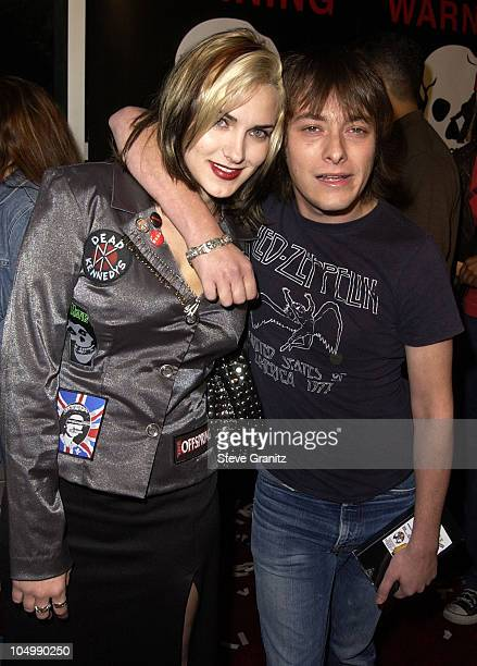 Edward Furlong guest during Jackass The Movie Premiere at Cinerama Dome in Hollywood California United States