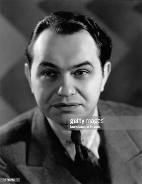 Edward G Robinson american actor Photograph by Elmer Fryer About 1935 Edward G Robinson amerikanischer Filmschauspieler Photographie von Elmer Fryer...