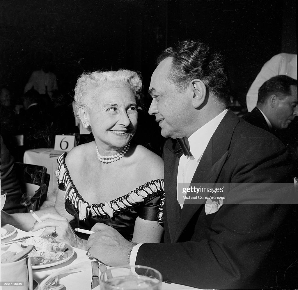 half off new images of usa cheap sale Edward G. Robinson and his wife Gladys Lloyd attend an event ...