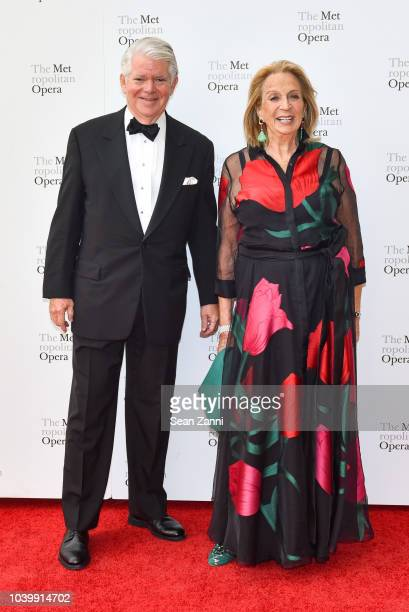 Edward Gallagher and Daisy Soros attend The Metropolitan Opera Opening Night Gala SaintSaens' Samson et Dalila at Lincoln Center on September 24 2018...