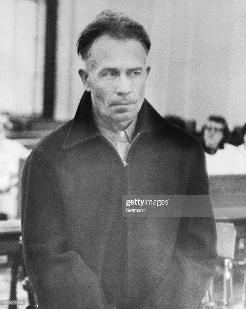 Edward Gein in Court : News Photo