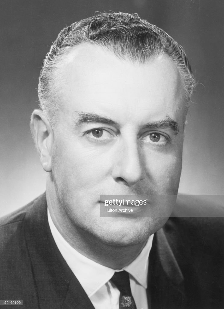 Edward Gough Whitlam, Leader of the Australian Labour PArty and LEader of the Federal Opposition. He is also the Member of the House of Representatives for Werriwas, New South Wales, circa 1970.
