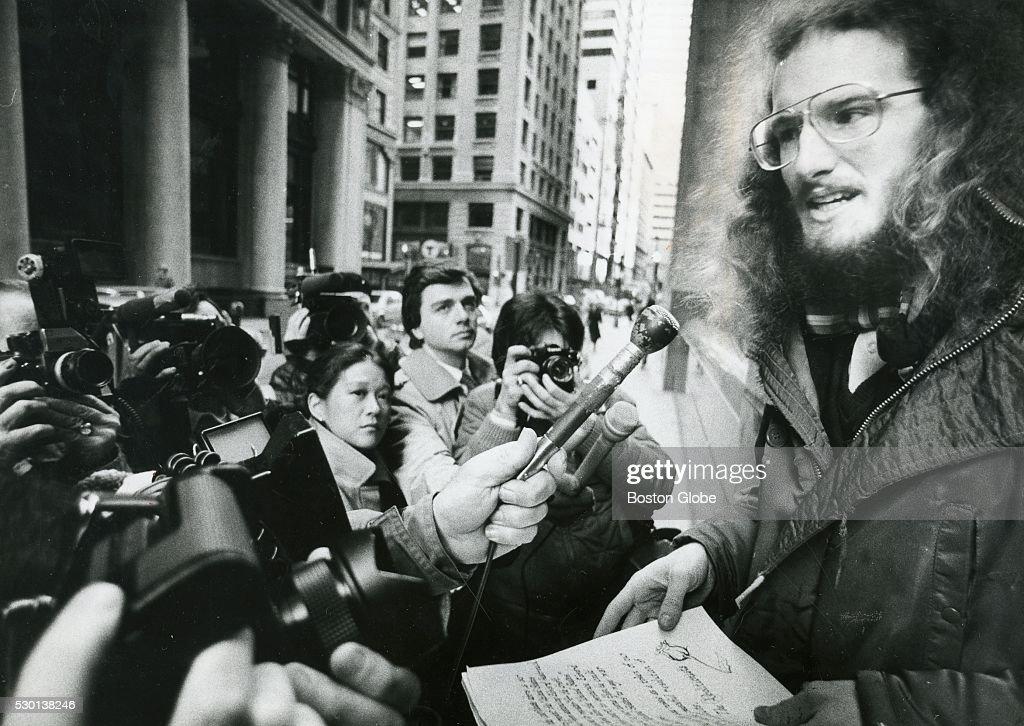 Draft Resister Edward Hasbrouck : News Photo