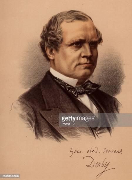 Edward Henry Stanley fifteenth Earl of Derby English politician Foreign Secretary under Disraeli 18661868 and 18741878 Colonial Secretary 18821885...
