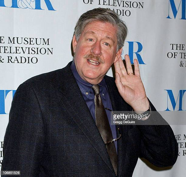 Edward Herrmann during 'Gilmore Girls' 100th Episode Celebration Presented by The Museum of Television Radio at The Museum of Television Radio in...