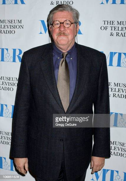 Edward Herrmann during Gilmore Girls 100th Episode Celebration Presented by The Museum of Television Radio at The Museum of Television Radio in...