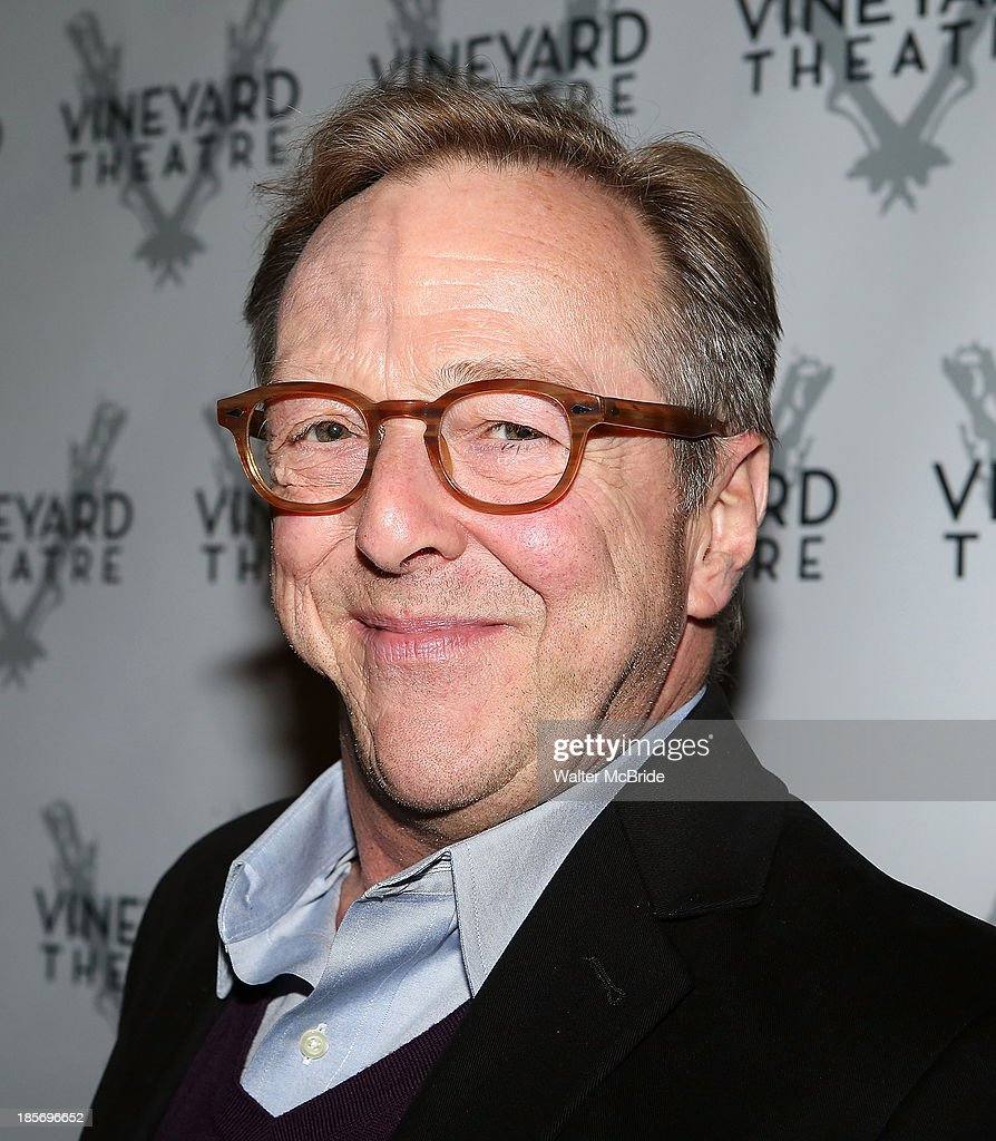 Edward Hibbert attends the opening night of 'The Landing' at Vineyard Theatre on October 23, 2013 in New York City.