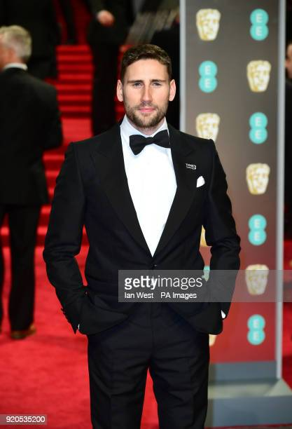 Edward Holcroft attending the EE British Academy Film Awards held at the Royal Albert Hall Kensington Gore Kensington London PRESS ASSOCIATION Photo...