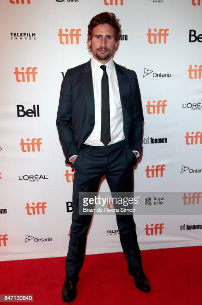 Edward Holcroft attends the 'Alias Grace' premiere during the 2017 Toronto International Film Festival at Winter Garden Theatre on September 14, 2017...